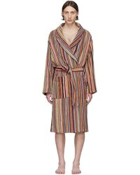 Paul Smith Multicolor Multi Stripe Robe