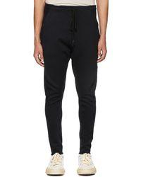 The Viridi-anne Special Pile Lounge Pants - Black