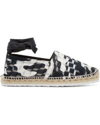 Pierre Hardy - Black & White Cube Espadrilles - Lyst