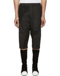 Alexandre Plokhov - Black Patchwork Shorts - Lyst
