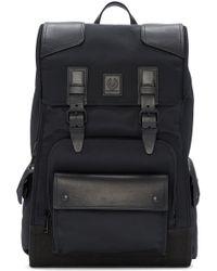 Belstaff - Black Roadmaster Backpack - Lyst