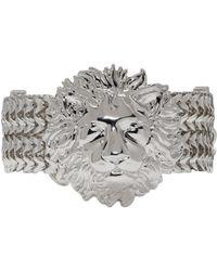 Versus - Silver Lion Bracelet - Lyst