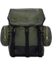 Tim Coppens - Khaki Nylon Backpack - Lyst