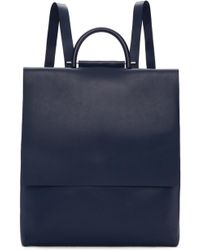 Building Block - Navy Rucksack Backpack - Lyst
