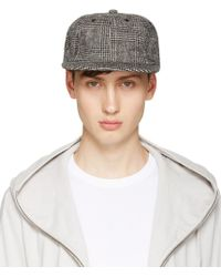 Attachment - Black Houndstooth Cap - Lyst