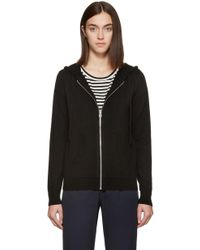 Earnest Sewn - Black Cashmere Socal Hoodie - Lyst