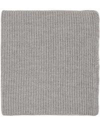 Hyke - Grey Wool Neck Warmer - Lyst