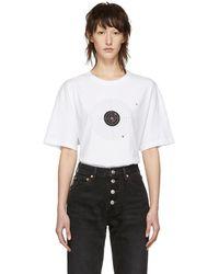 Vetements ホワイト ターゲット T シャツ