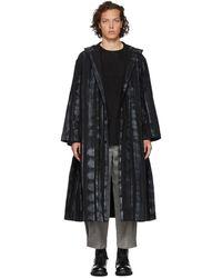 Toogood Black The Artist Coat