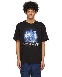 MISBHV ブラック 2001 Polizei T シャツ