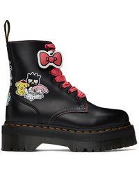Dr. Martens Hello Kitty & Friends エディション ブラック Jadon ブーツ