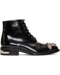 Toga - Black Knot Boots - Lyst