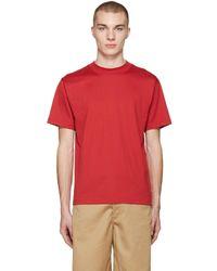 Acne Studios - Red Naples T-shirt - Lyst