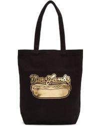 Marc Jacobs - Black Hot Dog Logo Tote - Lyst