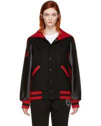 Opening Ceremony - Black Albania Global Varsity Jacket - Lyst