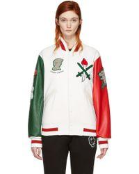 Opening Ceremony - White Italy Global Varsity Jacket - Lyst