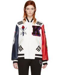 Opening Ceremony - White Korea Global Varsity Jacket - Lyst