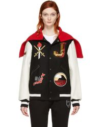 Opening Ceremony - Black Japan Global Varsity Jacket - Lyst