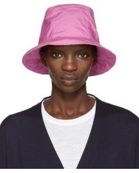 Sacai - Pink Overdyed Bucket Hat - Lyst