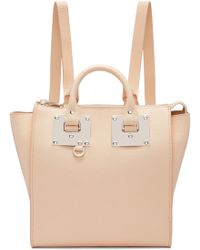 Sophie Hulme - Pink Small Holmes Backpack - Lyst