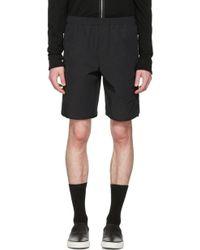 Tim Coppens - Black Zipper Shorts - Lyst