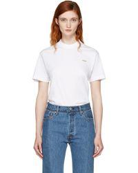 Vetements White Basic 'staff' T-shirt