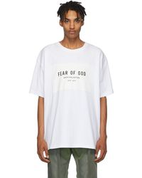 Fear Of God - ホワイト Sixth Collection T シャツ - Lyst