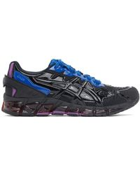 GmbH Black And Purple Asics Edition Gel-quantum 360-6 Low-top Sneakers