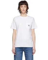 Carhartt WIP White Carrie T-shirt