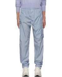 Givenchy - Blue Nylon Jogging Lounge Pants - Lyst