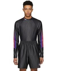Alexander Wang - Black Long Sleeve Athletic T-shirt - Lyst