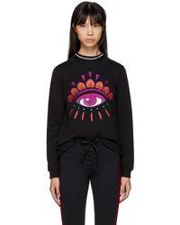 KENZO - Black Limited Edition Holiday Eye Sweatshirt - Lyst
