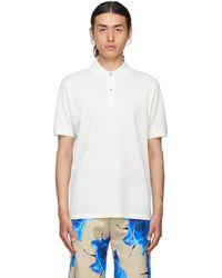 Paul Smith ホワイト Charm ポロシャツ