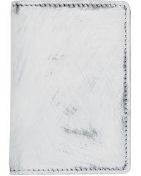 Maison Margiela - ブラック & ホワイト Fold-over ウォレット - Lyst