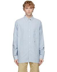 Nanamica Blue Wind Shirt