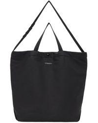 Engineered Garments - ブラック コットン キャリーオール トート - Lyst