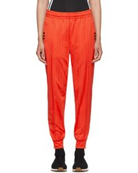 Alexander Wang - Red Track Pants - Lyst
