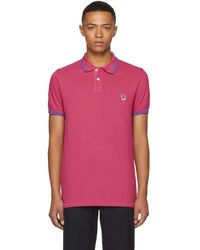 PS by Paul Smith - Pink Slim Fit Striped Polo - Lyst