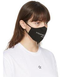Stella McCartney Logo Face Mask - Black