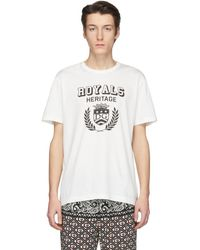 Dolce & Gabbana - オフホワイト Royals Heritage T シャツ - Lyst
