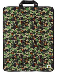 A Bathing Ape Tapis pliable baby milo vert à motif camouflage