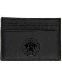 Versace ブラック La Medusa カード ケース