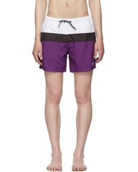 BOSS - Tricolor Zebrafish Swim Shorts - Lyst