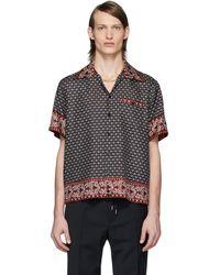 Dolce & Gabbana Hawaii Shirt In Bandana Print - Multicolor