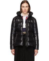 Moncler Black Down Rhin Jacket