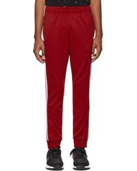 adidas Originals - Red Sst Track Pants - Lyst