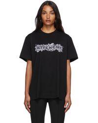 Givenchy ブラック 4g T シャツ