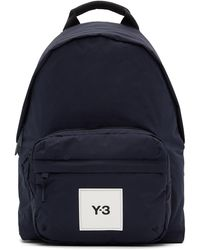 Y-3 Navy Techlite Tweak Backpack - Blue