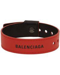 Balenciaga レッド パーティー ブレスレット