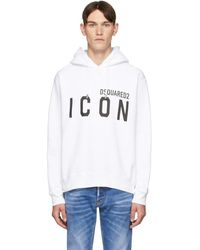 DSquared² - ホワイト Cool Fit Icon フーディ - Lyst